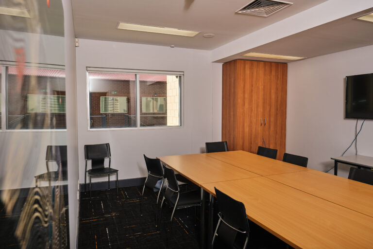 A photo inside Business Station Gosnells Board Room.