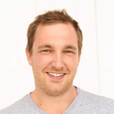 Headshot of Declan Pym, Web/App Development.
