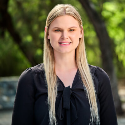Headshot of Rachel Burt, Receptionist. Rachel is our dynamic receptionist at ECUBIC (Edith Cowan University Business Incubation Centre) in Joondalup.